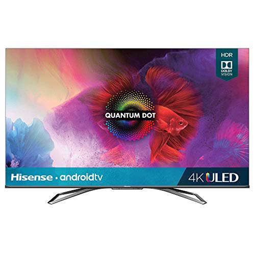 Hisense 55-Inch Class H9 Quantum Series Android 4K ULED Smart TV with Hand-Free Voice Control (55H9G, 2020 Model) (Reacondicionado)