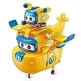 Super Wings Súper Mascota Juguetes de deformación Regalo De Niño Robot De Deformación Aeronave Coche Navidad Cumpleaños Año Nuevo Regalo Plano Deformado Juguete Combinación 12CM,Donnie