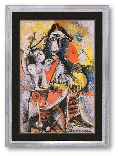 Kunstdruck Bild Pablo Picasso Musketeer and Cupid Lithographie 78 x 57 cm PREIS-HIT