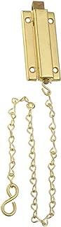 National Hardware N155-762 V862 Reversible Chain Bolt in Brass