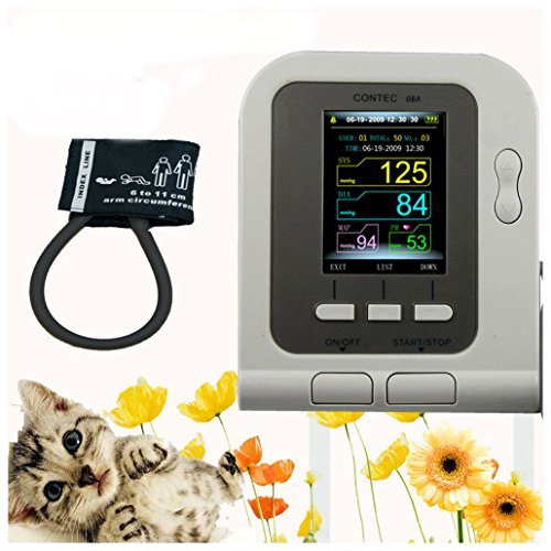 Vet Veterinary OLED digital Blood Pressure & Heart Beat Monitor