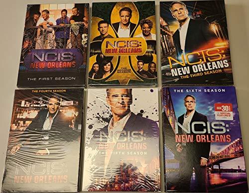 NCIS New Orleans Complete Seasons 1-6 DVD