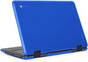 """mCover iPearl Hard Shell Case for 2018 11.6"""" Lenovo 300E / Flex 11 Series 2-in-1 Chromebook Laptop (NOT Fitting Lenovo 300E Windows & N21 / N22 / N23 /100E / 500E Chromebook) (C300E Blue)"""