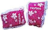 Girls Floatsafe Flotie Soft Fabric Armbands floatie, Pink