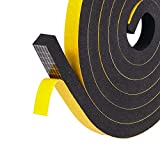 Fowong Adhesive Foam Tape High Density Home Window Insulation Weather Strip Seal Soundproof