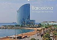 Barcelona im Auge der Kamera (Wandkalender 2022 DIN A2 quer): Barcelona abseits bekannter Pfade (Monatskalender, 14 Seiten )
