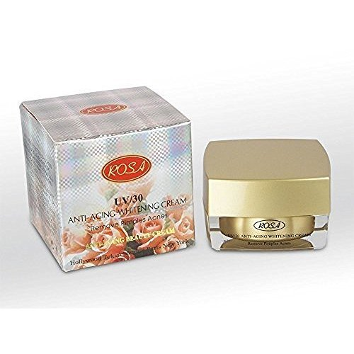 Rosa Uv/30 Anti-aging Whitening Cream Remove Pimples Acnes