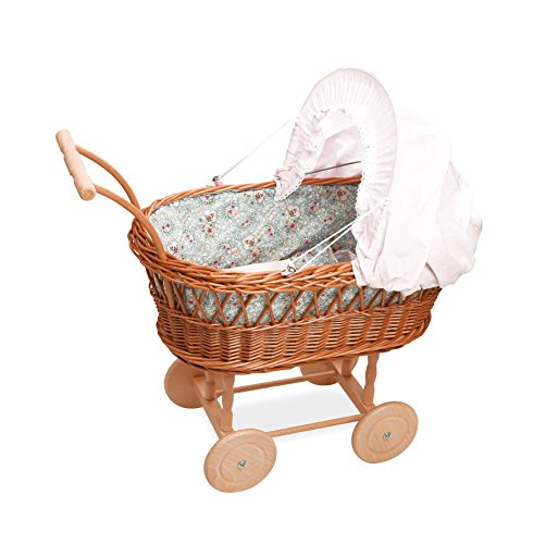Petitcollin petitcollin800100 pop wicker kinderwagen