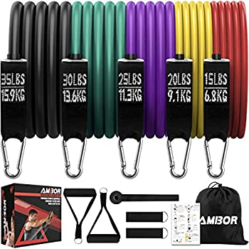 Ambor 11-Piece Resistance Bands Set