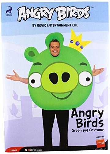 Angry Birds Schweine Kostüm, Größe:M