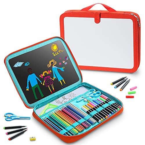HoLiHai Portable Art Painting Board Bag Kits, 47 PCS Drawing Set with 12PCS...
