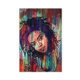 Lauryn Hill Leinwand-Poster, Wandkunst, Dekordruck,