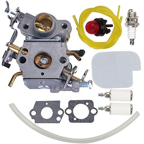 Milttor P3314 W26C Carburetor for Poulan P3816 Carburetor P3416 P4018 PP3416 PP3516 PP4018 PP4218 PPB3416 PPB4018 PPB4218 Power Gas Chainsaw 545070601 Zama W26B C1M-W26