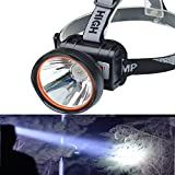 ODEAR Super Bright LED Rechargeable Headlamp Flashlight Torch HeadLamp for Mining Camping Hiking