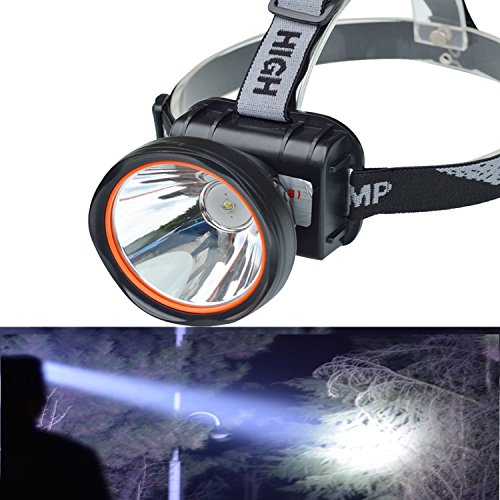 Odear Super Bright Adjustable Rechargeable Headlamp