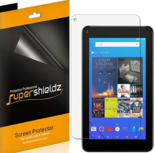 Supershieldz (3 Pack) for Ematic 7 inch Tablet (EGQ375BL) Screen Protector, High Definition Clear Shield (PET)