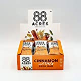 88 Acres, Cinnamon & Oats Seed Bars, 1.6 Ounce, 9 Pack