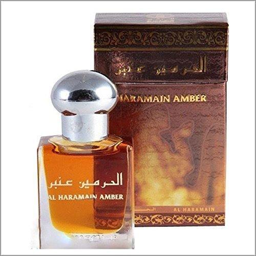 """Al Haramain """"bernstein"""" einzigartig arabische parfüm Öl attar ittr 15 ml alkohol frei prime duft"""