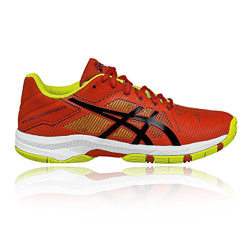 Asics - Gel-Solution Speed 3 chaussures de tennis pour enfants (orange/vert clair) - EU 39,5 - US 6,5