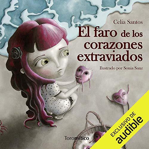 Diseño de la portada del título El faro de los corazones extraviados