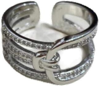 خواتم ذهبية وفضية للنساء (رمادي)