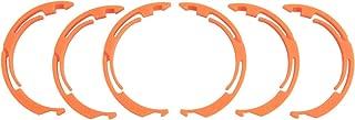 Fox Float X2 Volume Spacer Kit 3 Pairs: Clip-in Plastic 0.25
