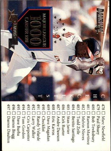 1995 Donruss Baseball Card #550 Chili Davis