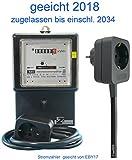 Wechselstromzähler Zwischenzähler 10/40 A. mit 1,5m Zuleitung (max. 16 Amp.) geeicht für Verrechnungszwecke zugelassen von EBY17