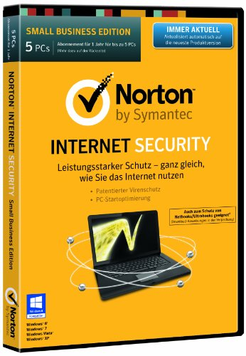 Norton Internet Security 2014 - 5 PCs (DVD-Box)