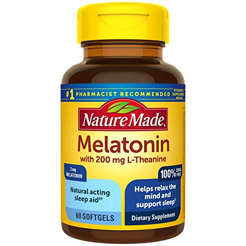 Nature Made Melatonin 5mg Tablets 90-Count Now $5.35 (Was $10.29)