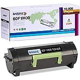 BAISINE Compatible Toner Cartridge Replacement for Lexmark 60F1H00 601H MX310dn MX410de MX510de MX511dhe MX511dte MX511de MX610de MX611de MX611dhe MX611dte MX611dfe -10,000 Page (Black, 1-Pack)