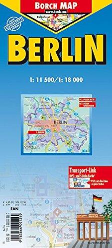 Berlin: 1:11 500 / 1:18 000. Einzelkarten: Berlin Mitte 1: 11 500; Berlin 1: 18 000; Berlin Großraum 1: 130 000; Nahverkehrskarte BVG; Historische ... Deutschland politisch (Borch Maps)