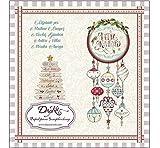 Dayka Set de Scrapbooking Feliz Navidad 2018 20x20cm