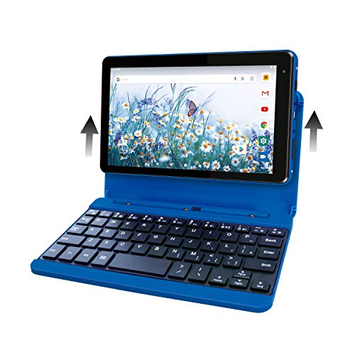 RCA Voyager Pro+ [RCT6876Q22K00] 7 Inches 2GB RAM 16GB Storage with Keyboard Case Tablet Android 10 (Go Edition) (Blue)