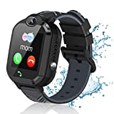 Kids Smart Watch for Boys Girls, Waterproof Smart Watch for Kids with Call SOS Alarm Clock Games Camera, LBS Tracker Touch Screen Children Smart Watch Christmas Birthday Gifts for Kids