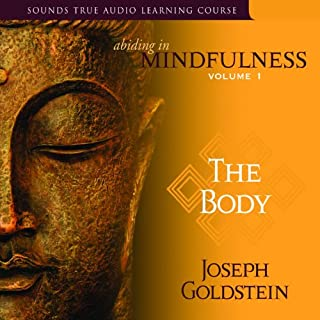 Abiding in Mindfulness, Volume 1     The Body              By:                                                                                                                                 Joseph Goldstein                               Narrated by:                                                                                                                                 Joseph Goldstein                      Length: 8 hrs and 1 min     27 ratings     Overall 4.9