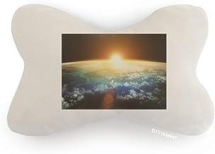 DIYthinker Golden Shines Superfície Ilustração Padrão Carro Decoração Pescoço Almofada Almofada Almofada Almofada