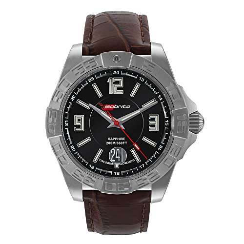 Isobrite ISO711 Executive Series Watch - Brown Leather Band