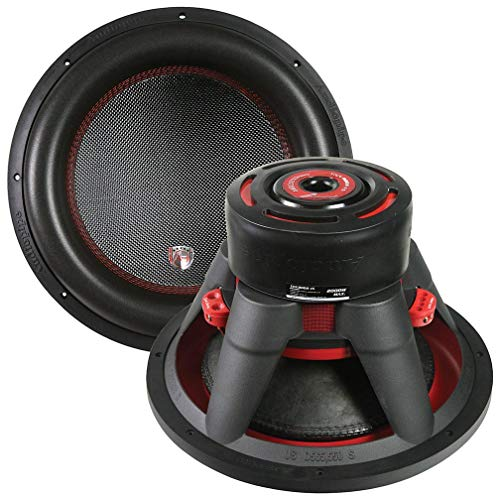 Audiopipe 15″ Car Audio Dual Woofer - 2000 Watt Max Power Surround Sound Stereo Bass Speakers Subwoofer System - 90DB 160oz Magnet 4 Ohm 3 Inch 4-Layer Dual Coil – Black