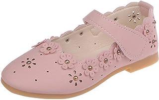 PPXID Fille Chaussures de Princesse Chaussures Ballerine pour Cérémonie Mariage