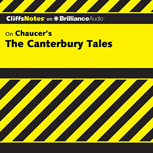 The Canterbury Tales: CliffsNotes audiobook cover art