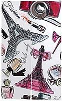 TINZZEROS のれん おしゃれ 美しいシームレスなファッション背景香水エッフェル プレゼント ベランダ 暖簾カーテン 縁起物 風通しの良い 透けにくい かわいい 置物 省エネ 突っ張り棒付き 幅85㎝×丈150㎝