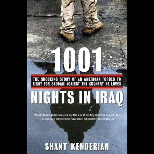 1001 Nights in Iraq audiobook cover art