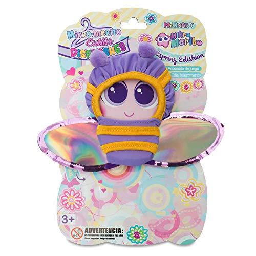 Distroller Lindo bebé abeja mono ropa con alas brillantes