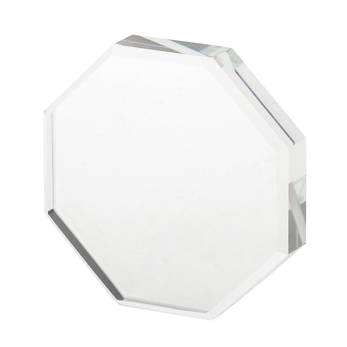 認可請う忙しいKesoto つけまつげ用  パレット ホルダー 美容 ツール まつげエクステンション  - 八角形