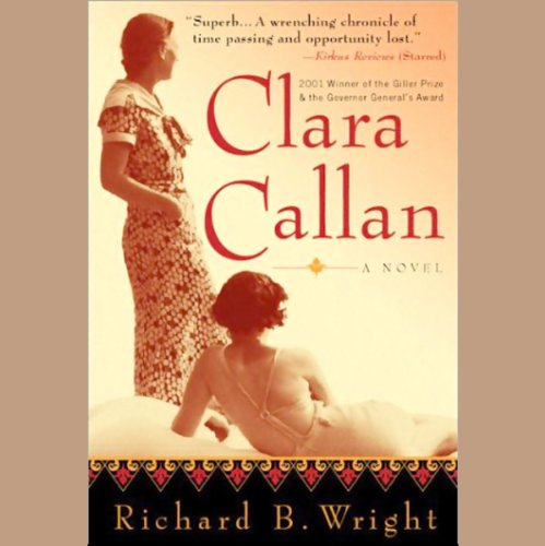 Clara Callan audiobook cover art