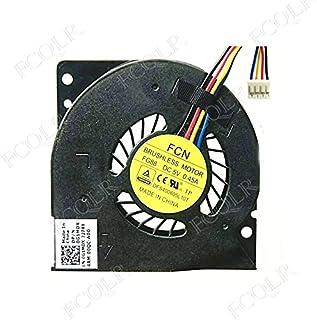 FCQLR Compatible for HASEE L3800 CPU Fan AB4505MX-GA3 4510 5V 0.14A Three Wire