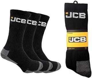 JCB Work Socks - Pack of 3