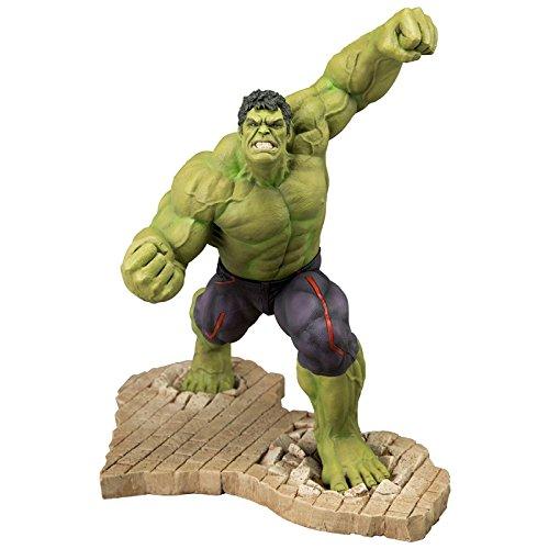 Figura Estatua Artfx Marvel Era De Ultron: Hulk