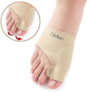 Bunion Pads, Bunion Corrector Toe Protectores Bunion Gel Pad Spandex Bunion Toe Reforzadores Esparcidor con